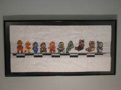 Mario Mario Mario - cross stitch - this is awesome!