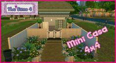 Desafio (Challenge) 4x4: Construindo uma mini casa | TS4 Blog: https://daenaplaysims.blogspot.com.br/2017/03/desafio-challenge-4x4-construindo-uma-mini-casa-thesims4.html