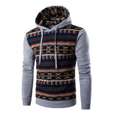 2016 Hoodies Mens Hombre Hip Hop Male Brand Hoodie Fashion Geometric Print Sweatshirt Suit Men Slim Fit Men Hoody XXL EYRV ** Check out this great product. Hoodie Sweatshirts, Hip Hop, Men's Fashion Brands, Men Fashion, Fall Fashion, Style Fashion, Long Hoodie, Costume, Slim Fit