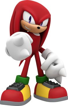 Knuckles the Echidna by TomothyS on DeviantArt Sonic Party, Sonic Birthday Parties, Knuckles The Echidna, Sonic & Knuckles, Sonic The Hedgehog, Shadow The Hedgehog, Sega Video Games, Sonic Dash, Hedgehog Birthday