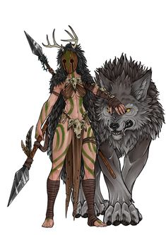 Don't mess with me at Barbarian the Druid Mythical Creatures- Leg dich nicht mit. - Don't mess with me at Barbarian the Druid Mythical Creatures- Leg dich nicht mit mir an Barbar d - Fantasy Character Design, Character Creation, Character Design Inspiration, Character Art, Female Character Concept, Character Ideas, Fantasy Warrior, Fantasy Rpg, Fantasy Artwork