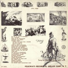 Smithsonian Folkways - Ballads of the War of 1812, 1791-1836 - Wallace House