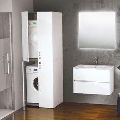Novellini Space #wasmachinekast tbv wasmachine, droger of beiden #wasmachineuithetzicht,