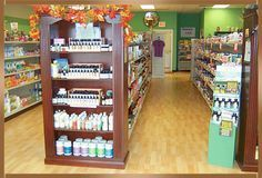 natural display units for whole foods - Google Search