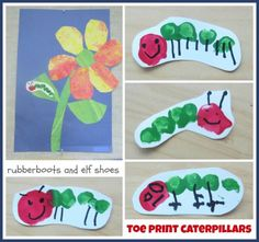 rubberboots and elf shoes: Eric Carle flowers activity Craft Activities, Preschool Crafts, Fun Crafts, Crafts For Kids, Preschool Ideas, Sequencing Activities, Children Activities, Preschool Science, Craft Ideas