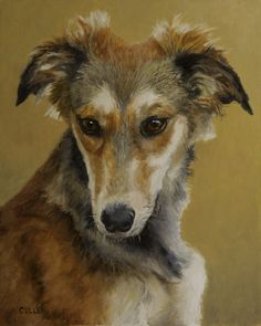 Ayla, painting by artist Stephen J. Cullen