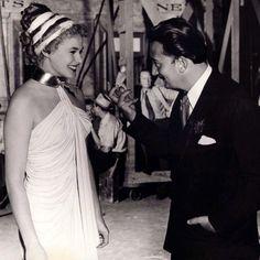 Salvador Dali & Ingrid Bergman (1945)