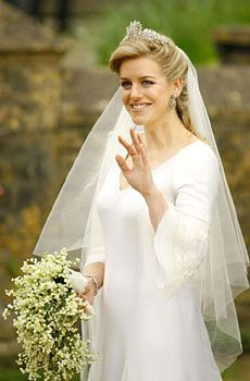 Laura Parker Bowles married Harry Lopes on 6 May 2006 (daughter of Camilla & step daughter of Prince Charles)
