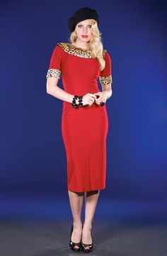 Stop Staring!: Blondie: In Red and Leopard $178 [EDIT: NOW A PART OF MY WARDROBE]