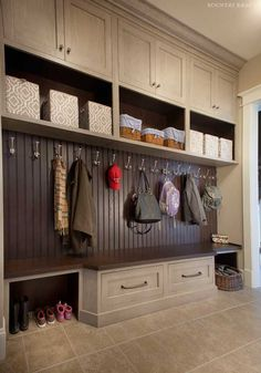 Custom Mudroom Cabinets in MD