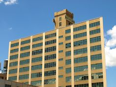 Watchtower Building, Brooklyn Heights New York City by jag9889, via Flickr