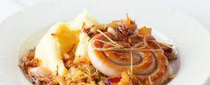 Shrimp, Cabbage, Eggs, Meat, Vegetables, Cooking, Breakfast, Food, Kitchen