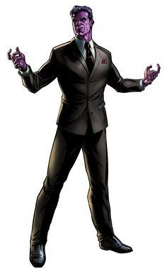 Purple Man in Marvel: Avengers Alliance Marvel Avengers Alliance, Hq Marvel, Marvel Comics Art, Marvel Comic Universe, Marvel Animation, Comic Book Villains, Marvel Villains, Marvel Fanfiction, Heros Comics