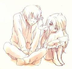 taiga and Ryuji - Toradora #anime