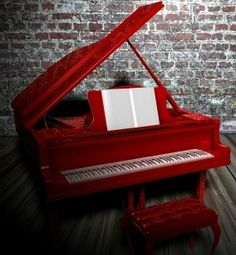I really wish I could paint my piano, but it wouldn't look right in my Victorian house.