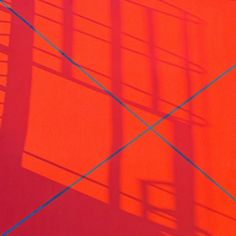 Orange and blue stripes by Wouter Hogendorp