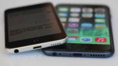 4.7-inch iPhone 6 mockup comparison to iPod touch highlights design similarities