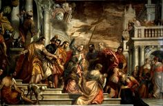 """Veronese, origin. Paolo Caliari 1528–1588.  """"St. Mark and St. Marcellian are lead to their martyrdom"""", c. 1565/70.  akg-images / Cameraphoto"""