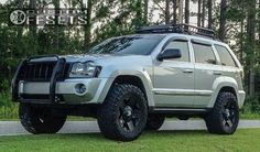 2005 Jeep Grand Cherokee Lifted | 08 1 2005 grand cherokee jeep leveling kit xd rockstar black ...