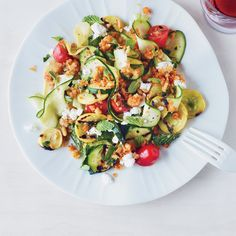 These fantastic zucchini recipes include a summery linguine, a refreshing, chilled soup, a cheesy casserole and more.