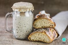 It's very easy to make a basic Sourdough Starter without yeast. Try this how-to sourdough starter recipe and you'll see there is nothing like fresh sourdough bread. Gluten Free Sourdough Bread, Sourdough Bread Starter, Sourdough Recipes, Bread Recipes, Sourdough Starter Recipe Without Yeast, Fermented Bread, How To Make Bread, Bread Baking, Clean Plates