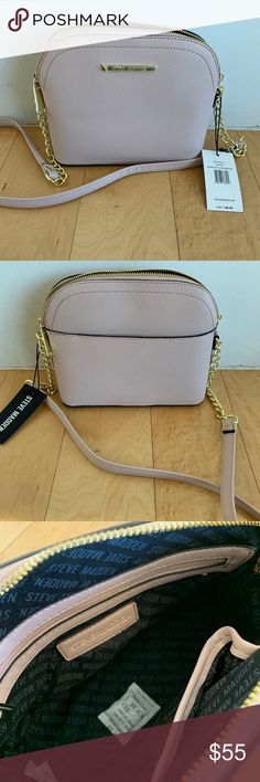 cec18d6c33c Steve Madden Blush Marilyn Dome Crossbody Purse New with tags, 9 by 7 by 3.5