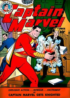 Golden Age - A Era de Ouro dos Quadrinhos: POSTAGEM 30: O NATAL DE BILLY BATSON (CAPTAIN MARVEL ADVENTURES 69)