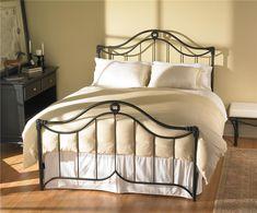 Iron Beds Queen Montgomery Iron Bed by Wesley Allen