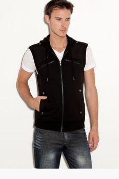 Rocko Vest with Hood