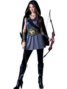 Women's Huntress Costume | Womens Costumes TV and Movie Halloween Costumes