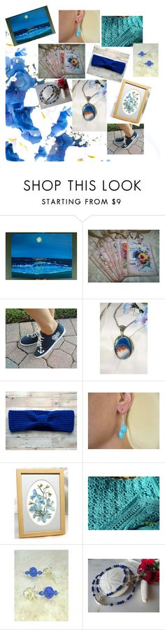 """""""Soemthing Blue !!"""" by zebacreations ❤ liked on Polyvore"""