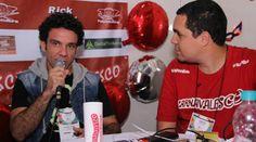 Intérprete participou da Roda de Samba do CARNAVALESCO, e explicou de onde veio