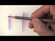 How to blend using the PRISMACOLOR BLENDING PENCIL - A PencilStash Tutorial - YouTube