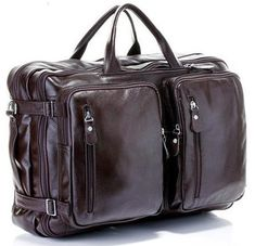 Fashion Multi-Function Leather Travel Bag – uShopnow store