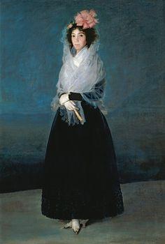 Retrato de María Rita de Barrenechea y Morante, Condesa de Carpio y Marquesa de la Solana, esposa de Juan de Sahagún de la Matalinares, Conde del Carpio, 1794-95