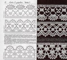 Картинки по запросу crocheted  borders