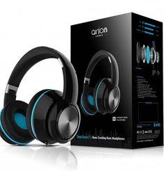 DEEP SONAR Bone Crushing Bass Headphones – BK