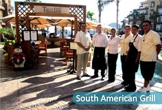 Good Morning #VillaDelArcoFamily !! The South America Grill Staff is sending regards to ALL of you!! Give us a like if you remember these amazing Guys!!  #VillaDelArco #LosCabos #VillaGroupResorts #BeachesResorts #WinterDestinantion #WinterVacation