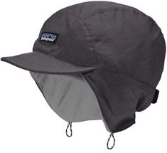 Weather and wind resistant, the Patagonia Shelled Synchilla® Duckbill Cap is a fleece-lined hat designed to protect you against the elements. Check it out. Patagonia Hat, Stylish Caps, Sun Protection Hat, 5 Panel Cap, Warm Winter Hats, Stuffed Shells, Cool Hats, Outdoor Outfit, Sun Hats