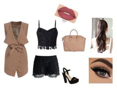 """""""Untitled #60"""" by berina-i ❤ liked on Polyvore featuring Lipsy, Chicwish, Givenchy, Jessica Simpson and Smashbox"""