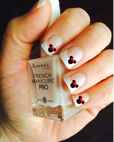 Disney Minnie Mouse Vinyl Nail Decals, Adult and Child Sizes available! Pick your color. Disney Vacation Ideas, Mickey Mouse, Minnie Mouse, Nail Ideas
