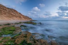 The gorgeous coastline of Israel