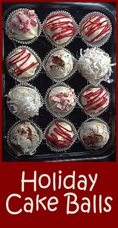 How to make Cake Balls (1) From:  Little Delights Cakes, please visit