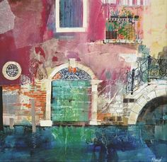 How to Use Collage, Colour and Texture in Paintings
