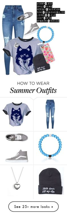 """Randon #1"" by olivia-parsons on Polyvore featuring Lipsy, Vans, Pandora and Casetify"