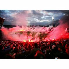 Ring of fire(Toumba) Al Ahly Sc, Ultras Football, Red Star Belgrade, Thessaloniki, Fire, Surabaya, Concert, Motivational, Culture