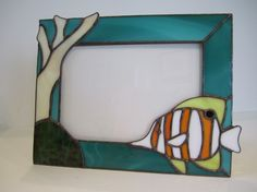 Butterflyfish Picture Frame by GriffithDesigns on Etsy, $65.00