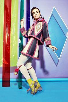 Katie Jones Осень-Зима 2016/17 - Модное вязание - Вязание спицами и крючком