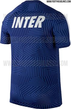 Inter 16-17 Pre-Match Shirt Leaked - Footy Headlines Equipos De Fútbol f228a0f789fba