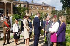 Duchess at Northern Irlenad garden party